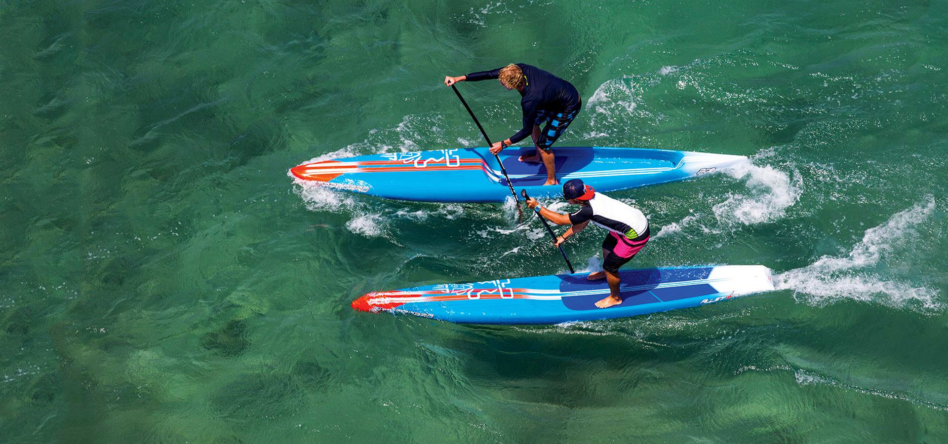 Starboard sup Race